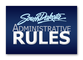 SD Administrative Rules